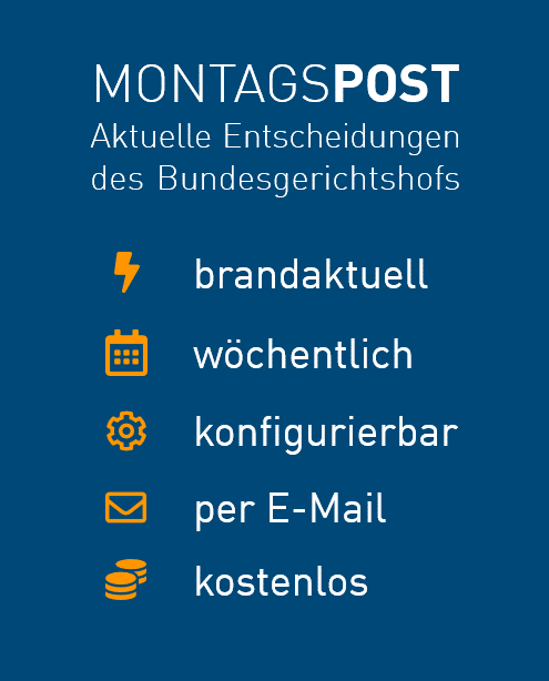 Montagspost
